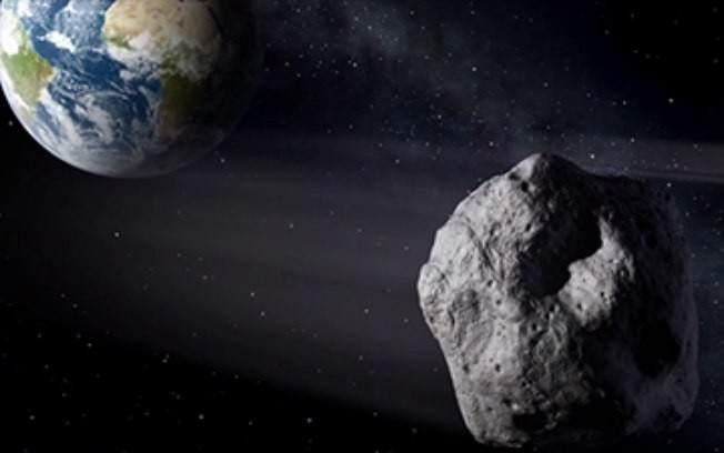 Un pequeño asteroide pasará entre la Luna y la Tierra
