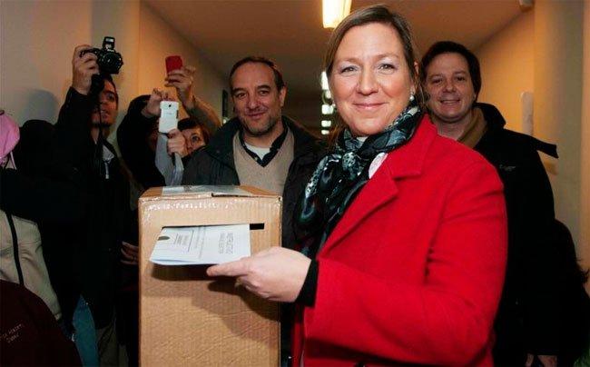 """En Bariloche ganó """"la dama de hierro"""""""
