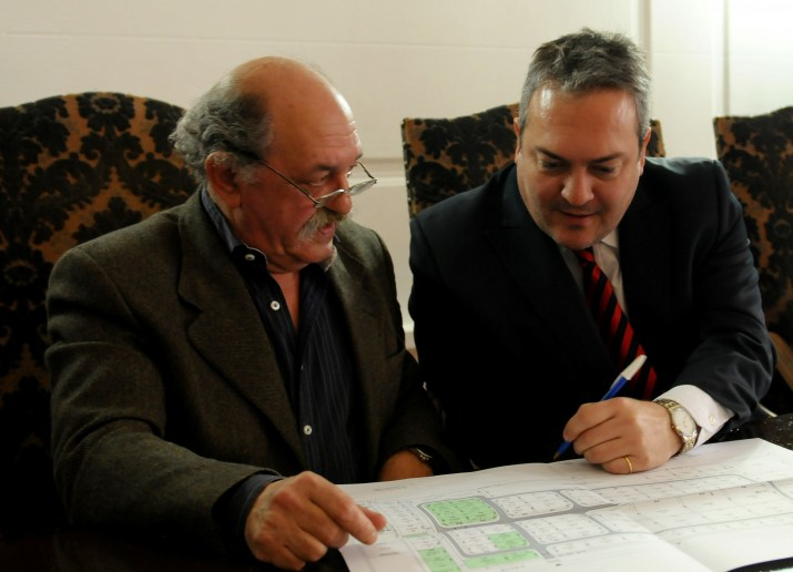 Breitenstein anunció la creación de un parque industrial en General Lamadrid