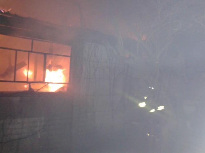 Se incendió un criadero de codornices