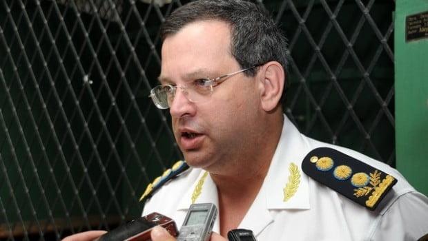 Granados oficializó la nueva cúpula policial, Maggi fue trasladado a otra región