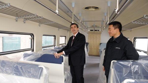 En los primeros meses de 2014 llegarán los trenes comprados a China