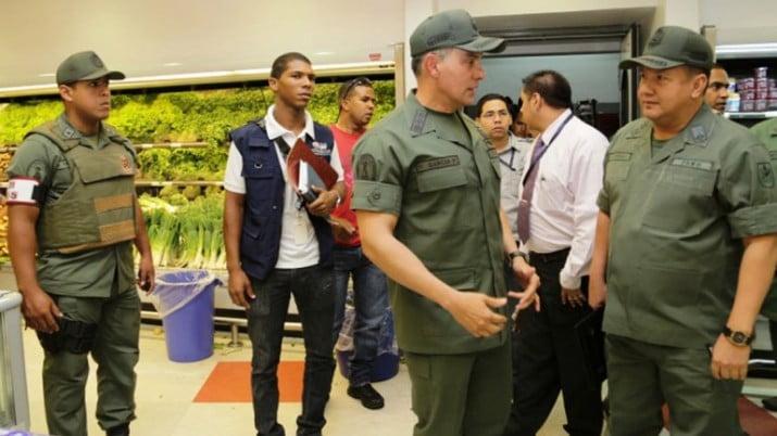 Maduro ordenó el ingreso de milicias en supermercados