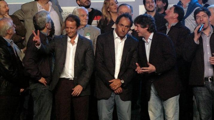 """Scioli reiteró sus aspiraciones para 2015: """"Sostengo mi voluntad"""""""
