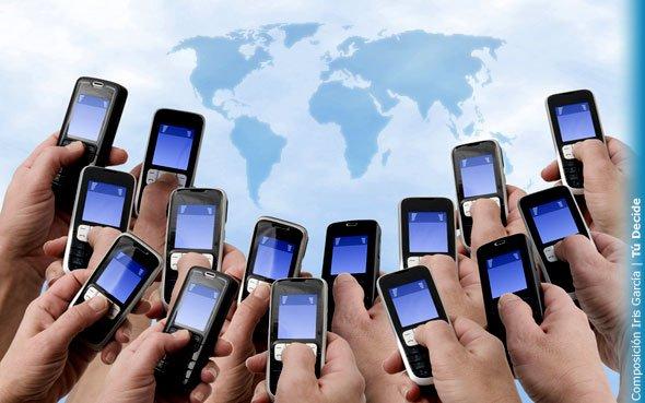 El 30 por ciento de la población mundial usará internet móvil a fin de año