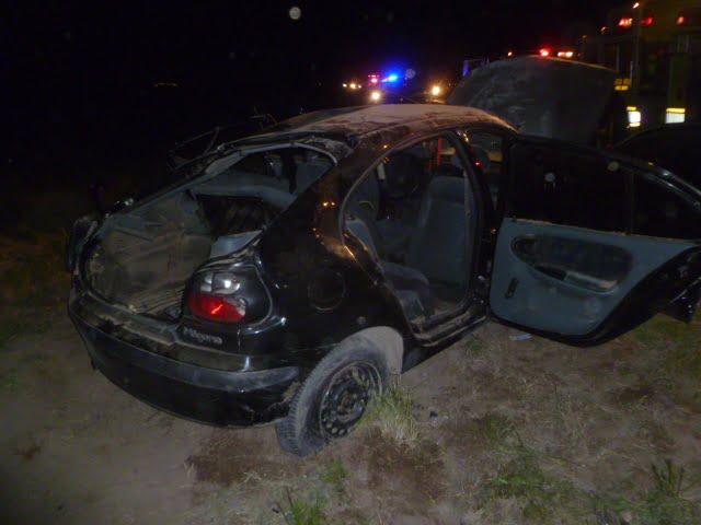 Tres heridos tras un choque en Ruta 3 Norte