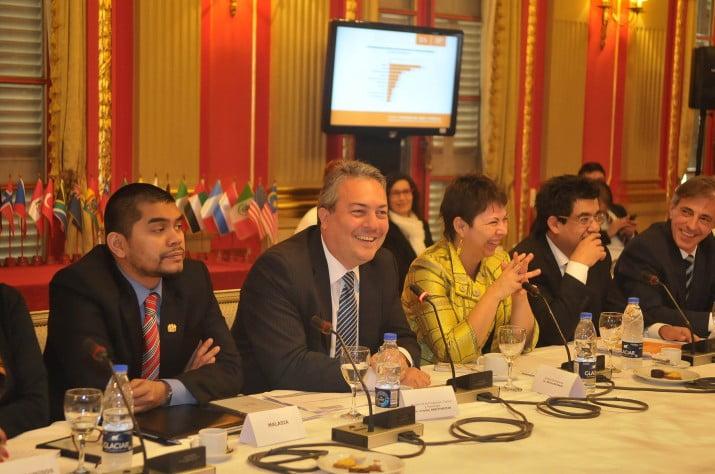 Inversiones: ministros de Scioli se reunieron con delegados de 36 países