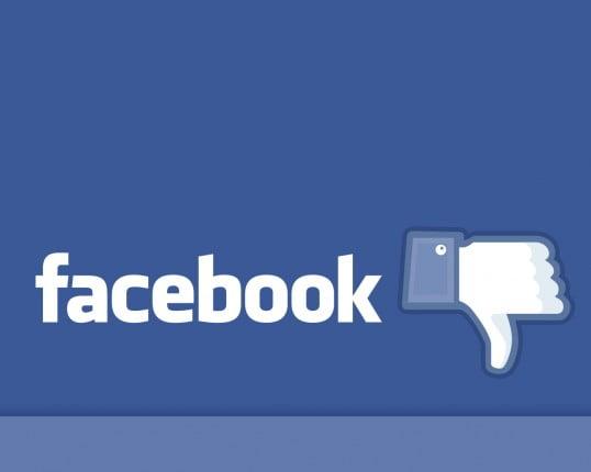 Falla mundial de la red social Facebook