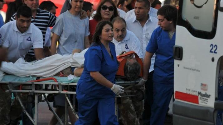 Gioja fue operado y se encuentra estable tras el accidente aéreo