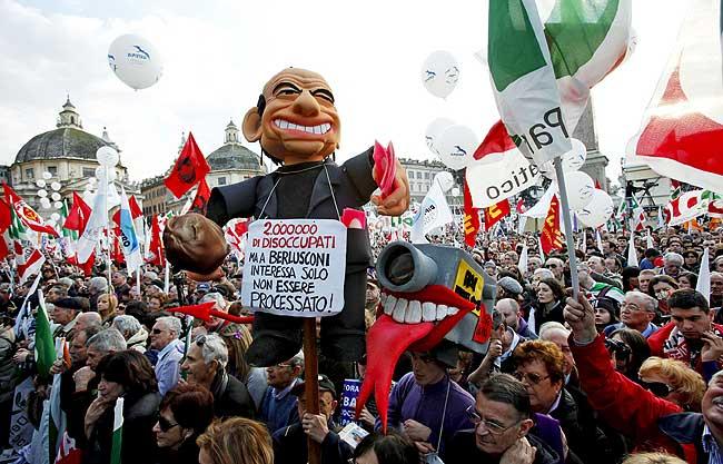 Nuevas huelgas contra el ajuste presupuestario vuelven a golpear a Italia