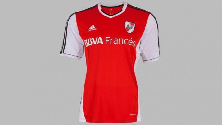 El domingo River estrenará una nueva camiseta alternativa
