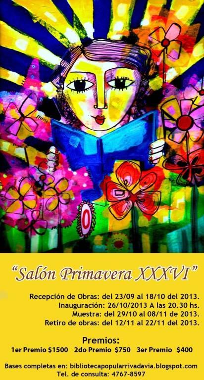 Salón Primavera XXXVI en la Biblioteca Rivadavia