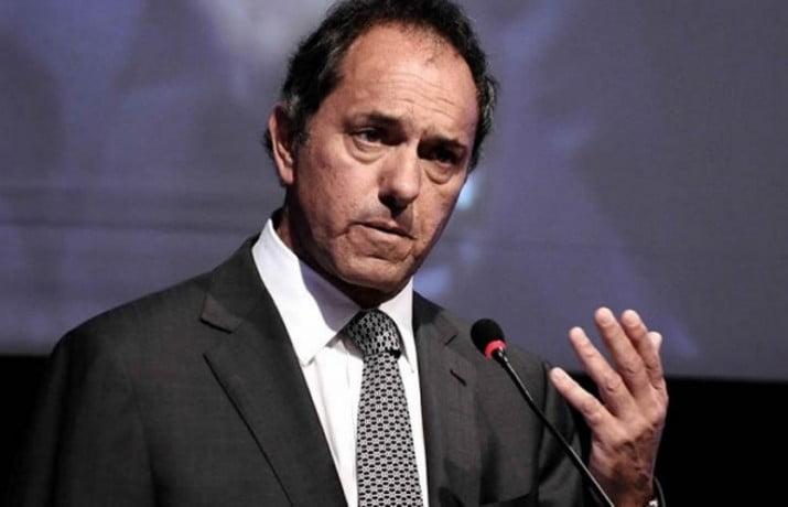 Scioli pidió a empresarios defender el modelo