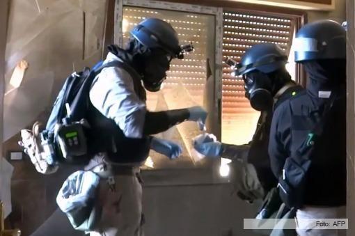 Siria completó el proceso de destrucción de su arsenal químico