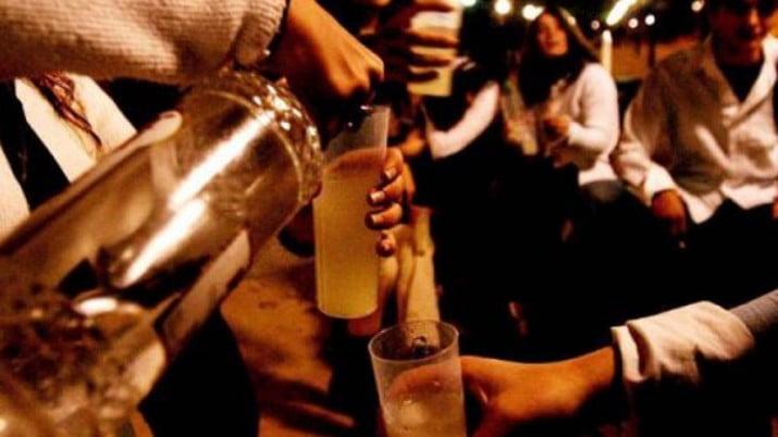 Controlarán la venta de alcohol en fiestas de egresados