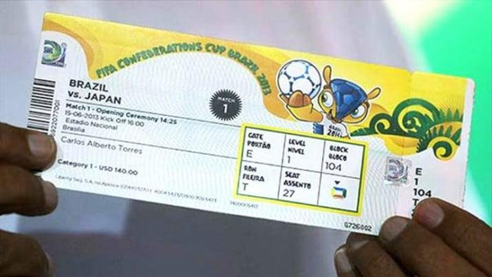 La FIFA puso a la venta casi 223.000 entradas para el Mundial de Brasil