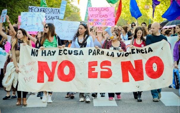Se realizó la 3ra. edición de 'La Marcha de las Putas' en Mar del Plata