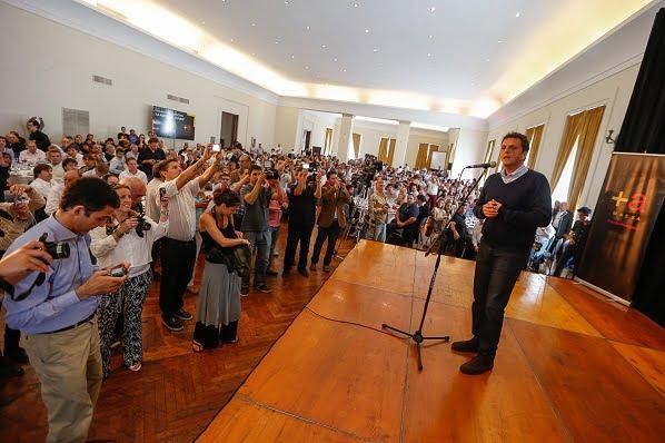 """Massa frente al Presupuesto de Scioli: """"la gente votó un cambio"""""""