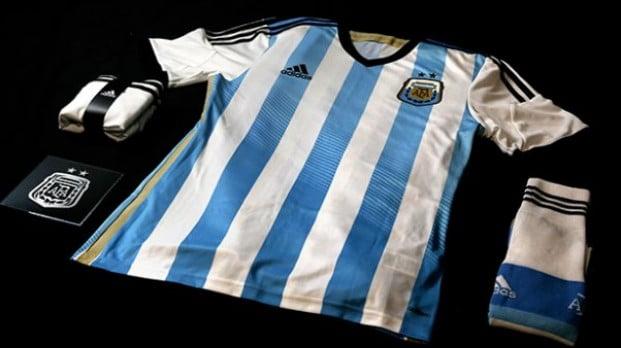 La camiseta de la Selección Argentina para el Mundial