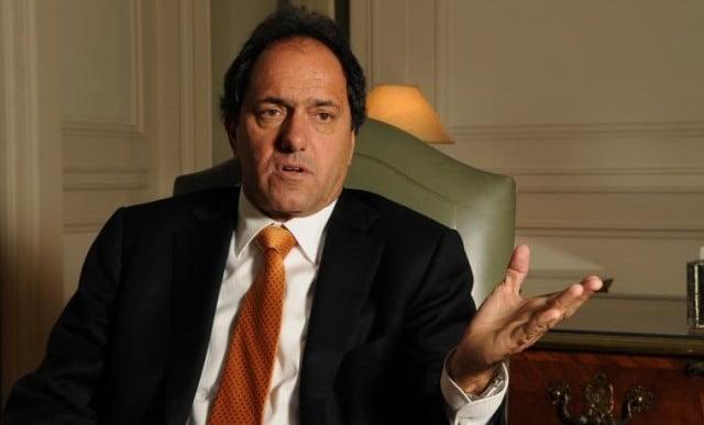 Scioli defendió el diálogo con el massismo