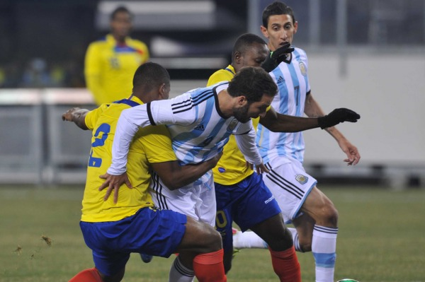 La Selección, sin Messi, igualó con Ecuador en la gira por Estados Unidos