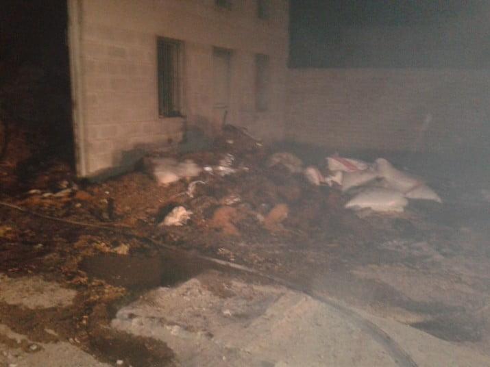Un incendio provocó numerosos daños en un depósito de fideos