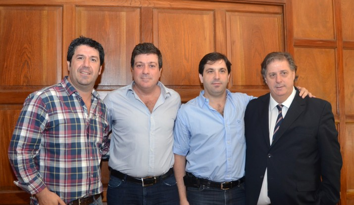 Maritto y Collia acordaron la designación de Diego Palomo en Región Sanitaria I