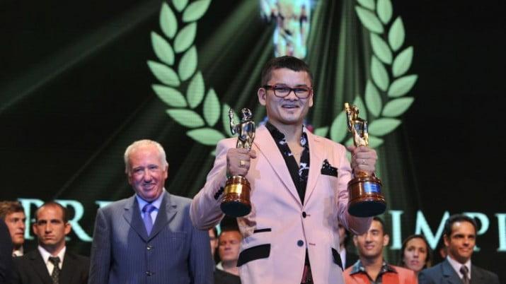 El Chino Maidana se quedó con el Olimpia de Oro 2013