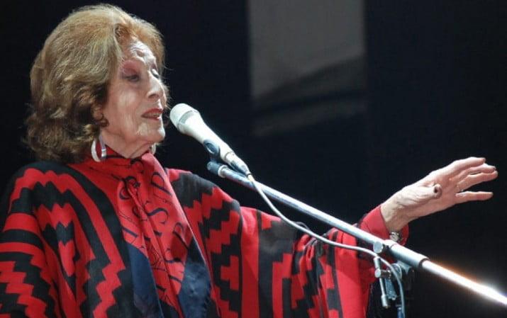 """A los 102 años, falleció la inmensa """"cantora nacional"""" Nelly Omar"""