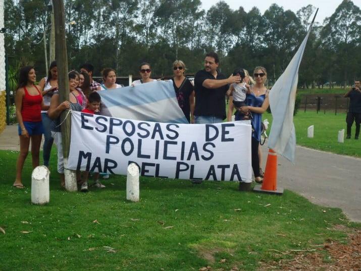 Mar del Plata: policías se acuartelan