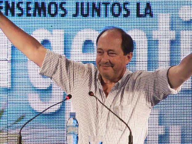 Sanz fue proclamado presidente del Comité Nacional de la UCR