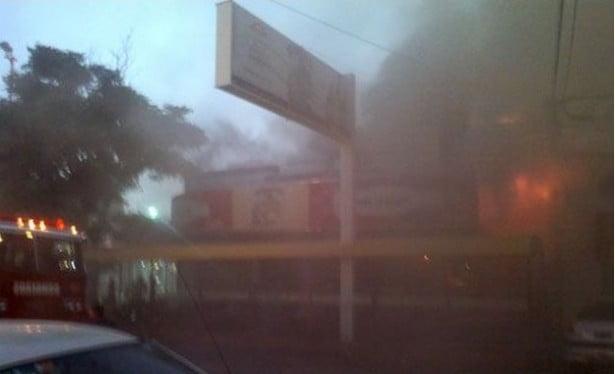 Monte Hermoso: Importante incendio en un restaurante céntrico