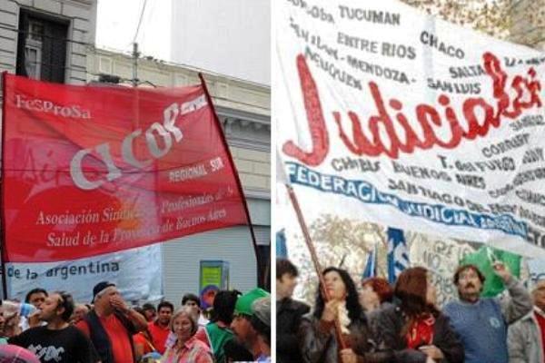 Judiciales anuncian medidas de fuerza y advierten que no aceptarán un aumento en cuotas