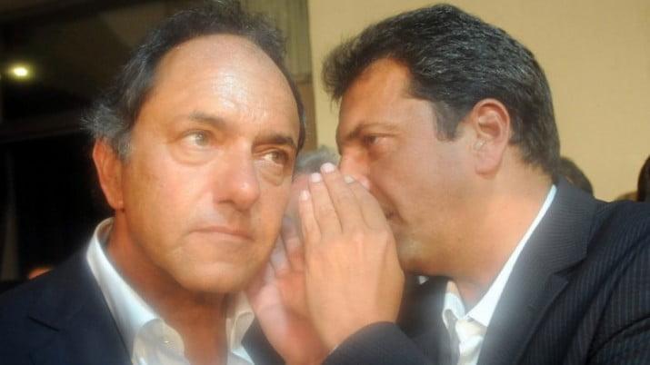Scioli y Massa se reencontraron en casino de gastronómicos