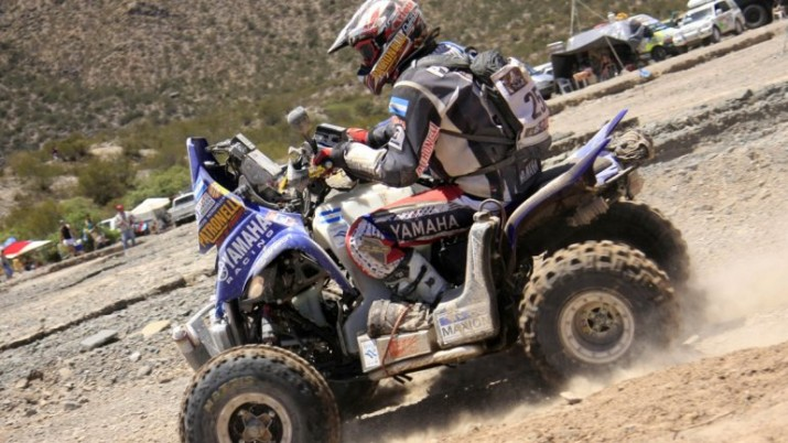 Patronelli sufrió un accidente y tuvo que abandonar el Dakar