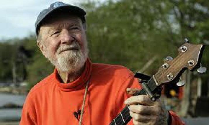 Murió Pete Seeger, la leyenda del folk