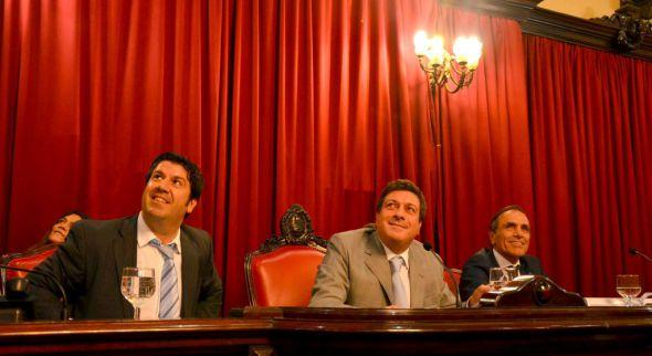 Calderaro ratificó la idea de Mariotto gobernador