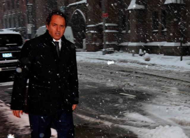 Scioli festejó nuevo índice en NY y prepara salida al mercado externo