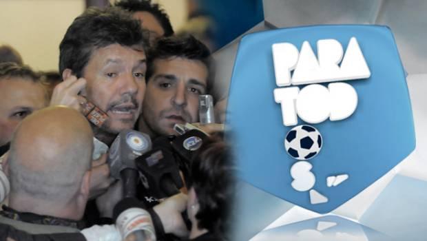 Tinelli no llegó a un acuerdo y se bajó del Fútbol Para Todos
