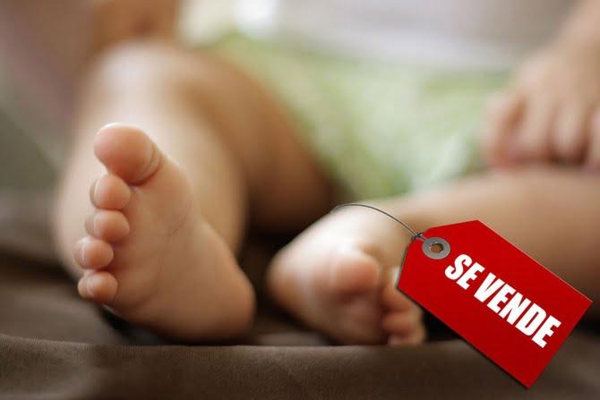 Tres grupos mafiosos manejan el tráfico de bebés
