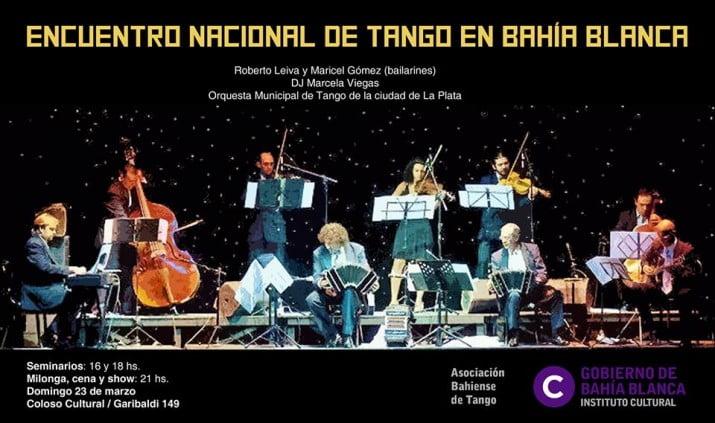 Encuentro Nacional de Tango en Bahía Blanca
