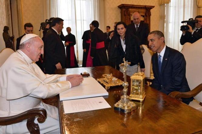Aborto y reforma migratoria, ejes del diálogo entre Francisco y Obama
