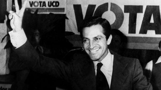 Murió Adolfo Suárez, el presidente español que sucedió al franquismo