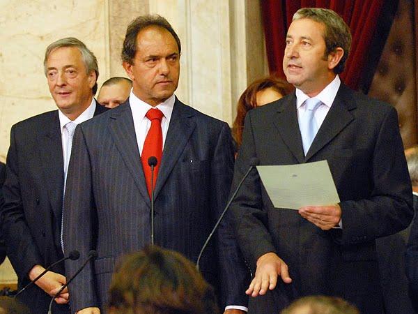 """Cobos se mete en la interna K: """"Scioli no tiene el ADN del kirchnerismo"""""""