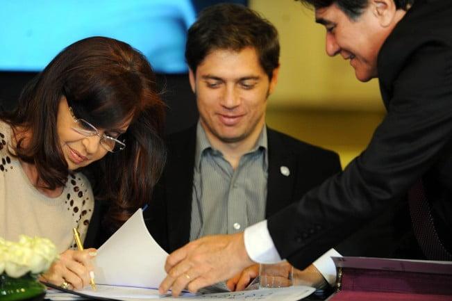 La Presidenta anunció un proyecto para combatir la precarización laboral