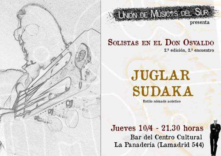 """UMSUR presenta """"Juglar Acústico. Estilo Nómade Sudaka"""""""
