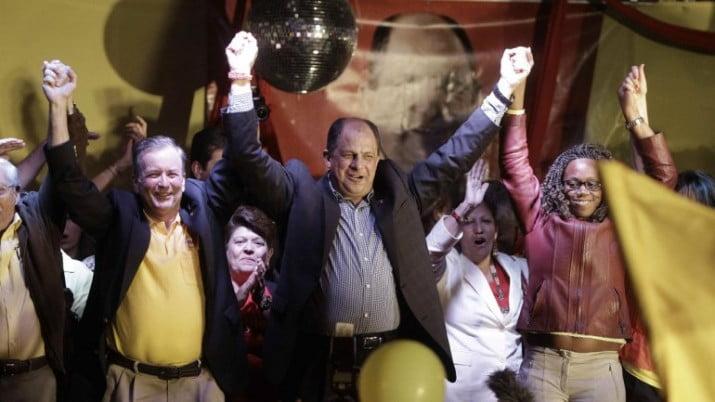 Luis Guillermo Solís es el nuevo presidente de Costa Rica