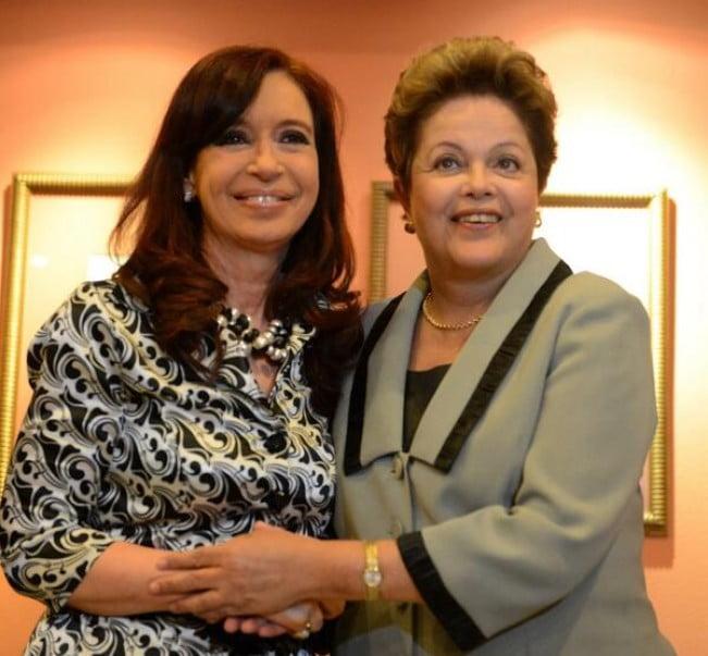 Cristina agradeció a Dilma pero descartó su viaje a la final