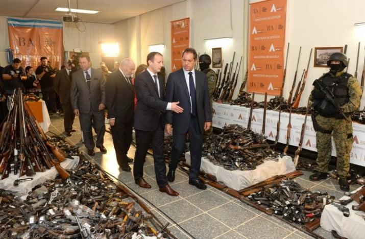 Emergencia en seguridad: casi 3.000 armas secuestradas en la Provincia