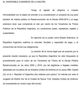 Punto por punto los artículos del proyecto de ley